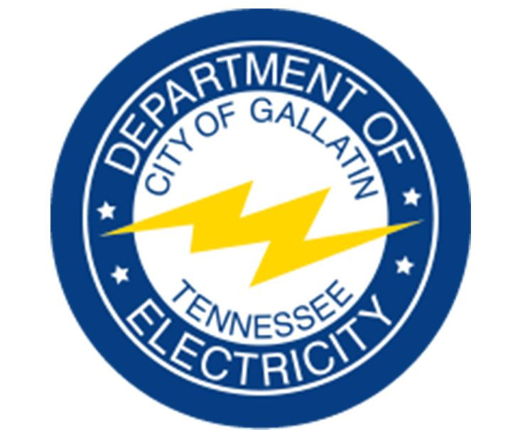 Gallatin Department of Electricity logo