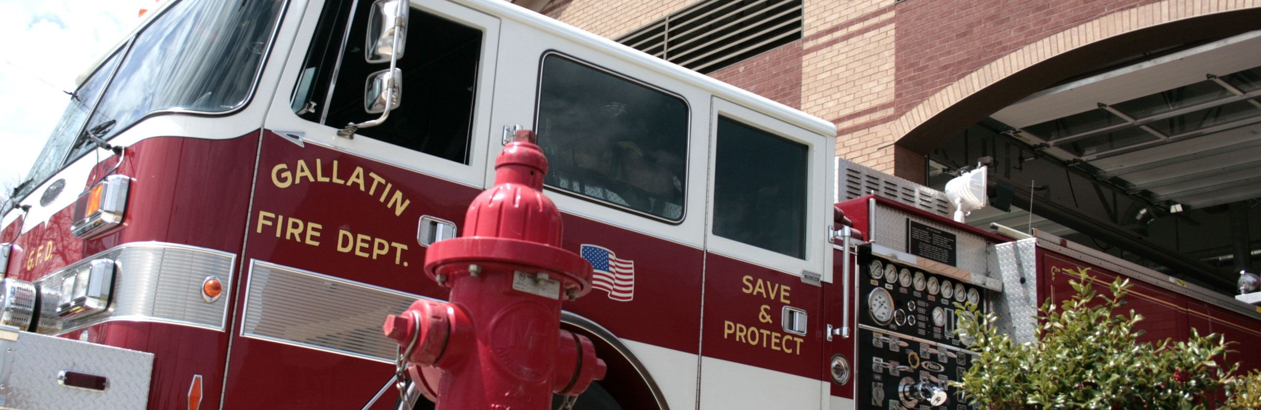 Fire Engine at Station #4
