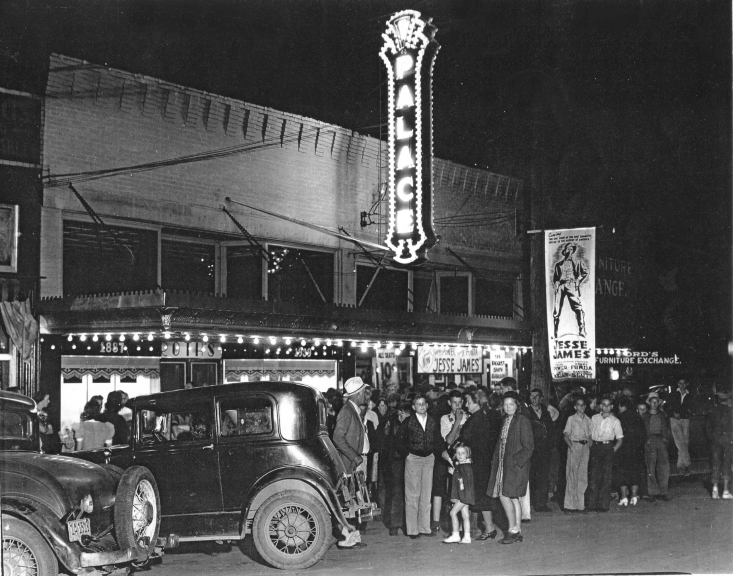 Historic Palace Theater Crowd