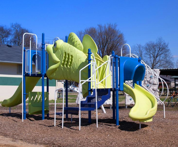 Clearview Park Playground that Looks Like Fish