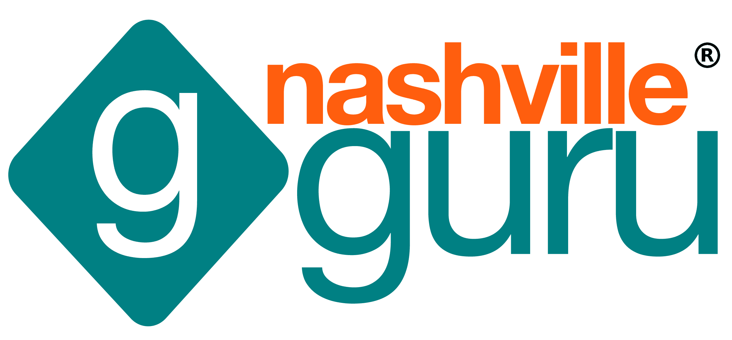 Nashville Guru Logo Stacked