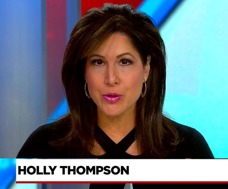 Holly Thompson with Newschannel 4
