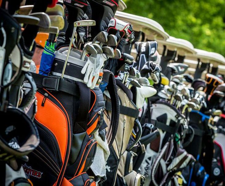 Golf Bags at Long Hollow Golf Course